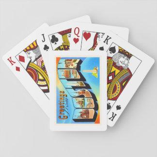 Boston Massachusetts MA Vintage Travel Souvenir Playing Cards