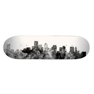 Boston Massachusetts Skyline 18.1 Cm Old School Skateboard Deck