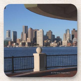 Boston, Massachusetts skyline 2 Beverage Coaster