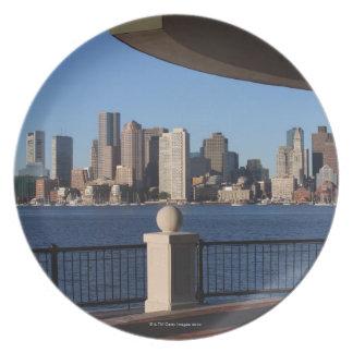 Boston, Massachusetts skyline 2 Dinner Plate