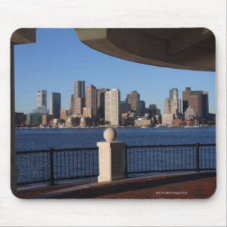 Boston, Massachusetts skyline 2 Mouse Mat