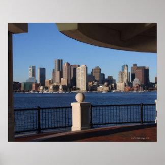 Boston, Massachusetts skyline 2 Poster