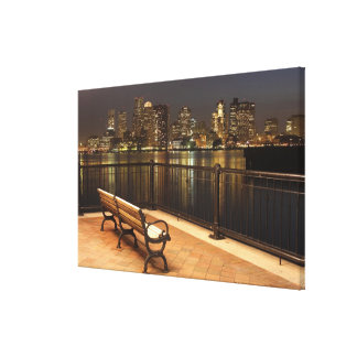 Boston, Massachusetts skyline 3 Canvas Print