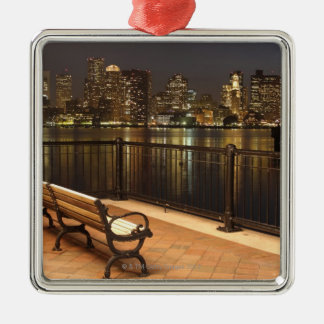 Boston, Massachusetts skyline 3 Christmas Ornament