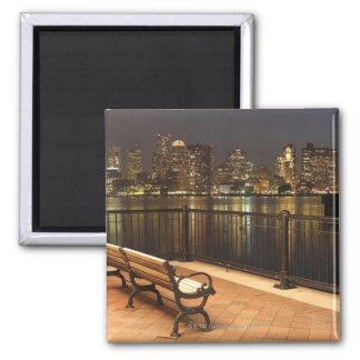 Boston, Massachusetts skyline 3 Magnet