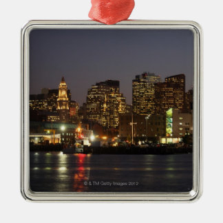 Boston, Massachusetts skyline 4 Christmas Ornament