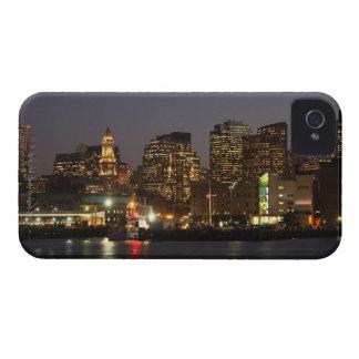 Boston, Massachusetts skyline 4 iPhone 4 Case-Mate Case