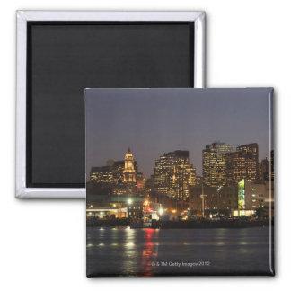 Boston, Massachusetts skyline 4 Magnet