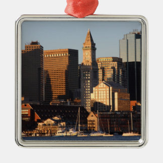 Boston, Massachusetts skyline 5 Christmas Ornament