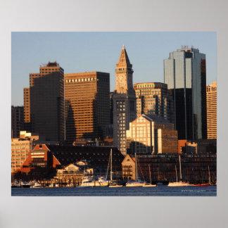Boston, Massachusetts skyline 5 Poster