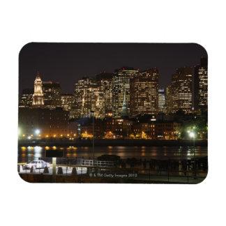 Boston, Massachusetts skyline 6 Rectangular Photo Magnet
