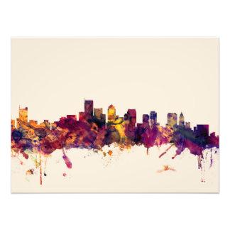 Boston Massachusetts Skyline Photo Art