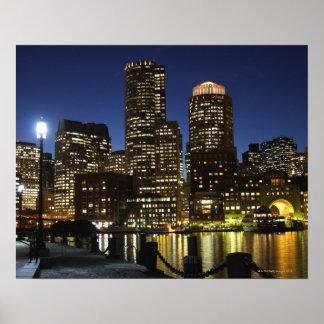 Boston Massachusetts skyline Posters
