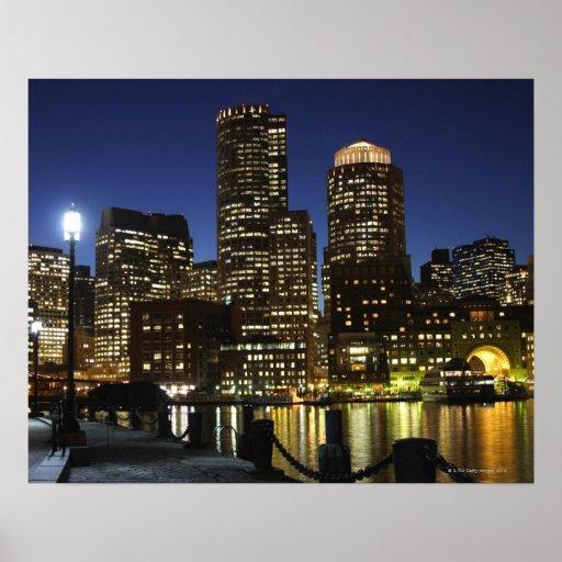 Boston, Massachusetts skyline Posters