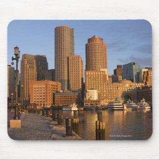 Boston, Massachusetts Waterfront Mouse Mat