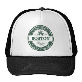 boston massachusetts - wicked pissah cap