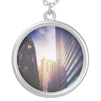 Boston Necklace Pendant: Bright City