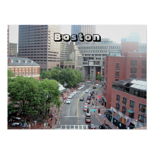 """Boston Poster"" Poster"
