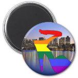 Boston Pride Fridge Magnets