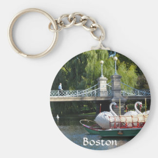 Boston Public Garden Key Chain