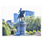 Boston Public Garden Post Card