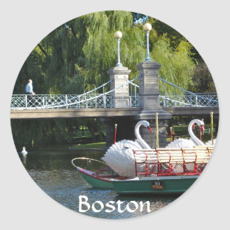 Boston Public Garden Sticker