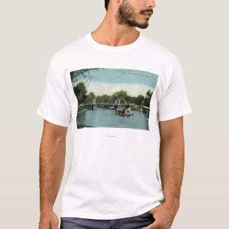 Boston Public Garden View of the Bridge T-Shirt