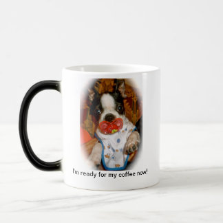 Boston Puppy with Binky Mug