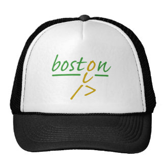 Boston runner hats