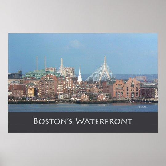 Boston's Zakim Bridge Poster
