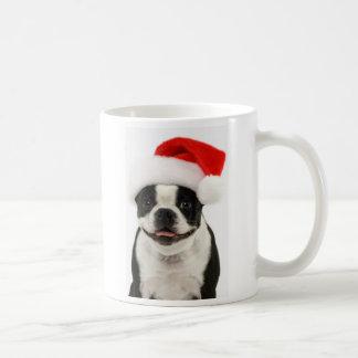 Boston Santa Hat Mug