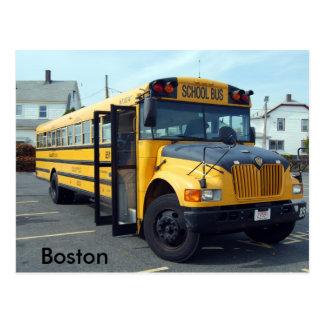 Boston School Bus Post Cards