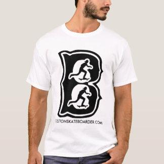 Boston Skateboarder B By Manny Santiago T-Shirt