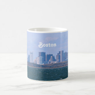 Boston Skyline Coffee Mug