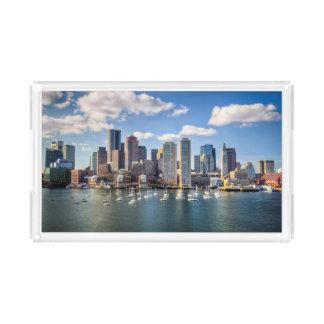Boston skyline from waterfront