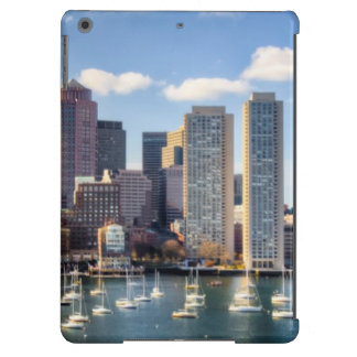 Boston skyline from waterfront case for iPad air