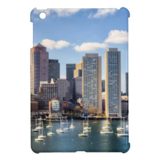 Boston skyline from waterfront case for the iPad mini