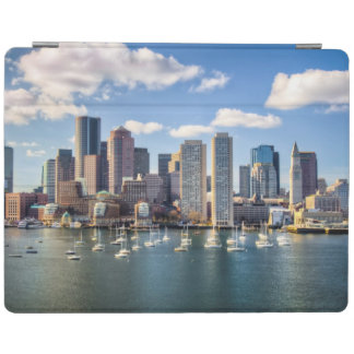 Boston skyline from waterfront iPad cover