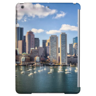 Boston skyline from waterfront iPad air covers