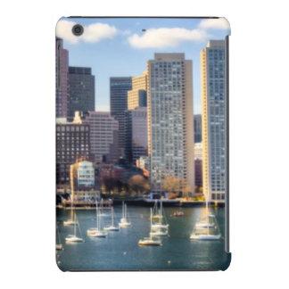Boston skyline from waterfront iPad mini retina cases