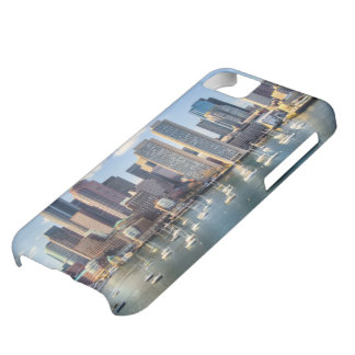 Boston skyline from waterfront iPhone 5C case
