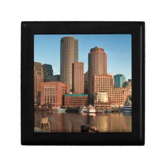 Boston skyline gift box
