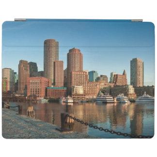 Boston skyline iPad cover