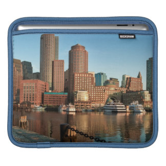 Boston skyline iPad sleeve