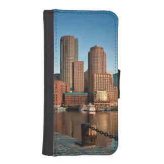 Boston skyline iPhone SE/5/5s wallet case
