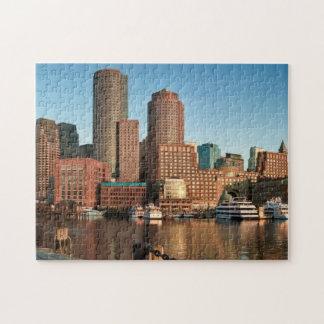 Boston skyline jigsaw puzzle