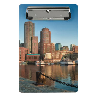 Boston skyline mini clipboard