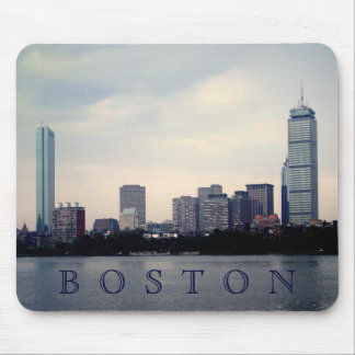 Boston Skyline Mouse Pad