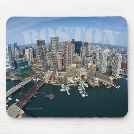 Boston Skyline Mousepad
