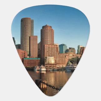 Boston skyline plectrum